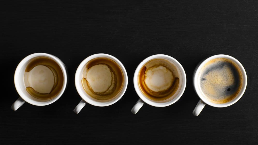 A visual health history of coffee