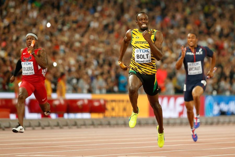 Usain Bolt - the world's fastest man