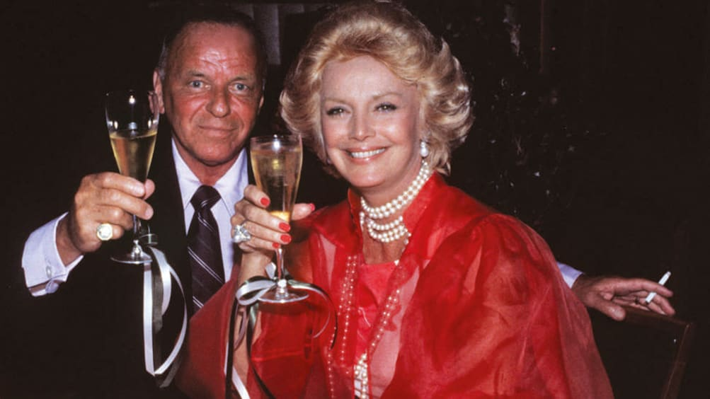 Mandatory Credit: Photo by BEImages ( 587799c )Frank Sinatra and Barbara Sinatra Sinatra's 6th wedding Anniversary July 11, 1984 - Palm Springs, CA Frank Sinatra and Barbara Sinatra Frank and Barbara Sinatra's 8th wedding Anniversary. Photo