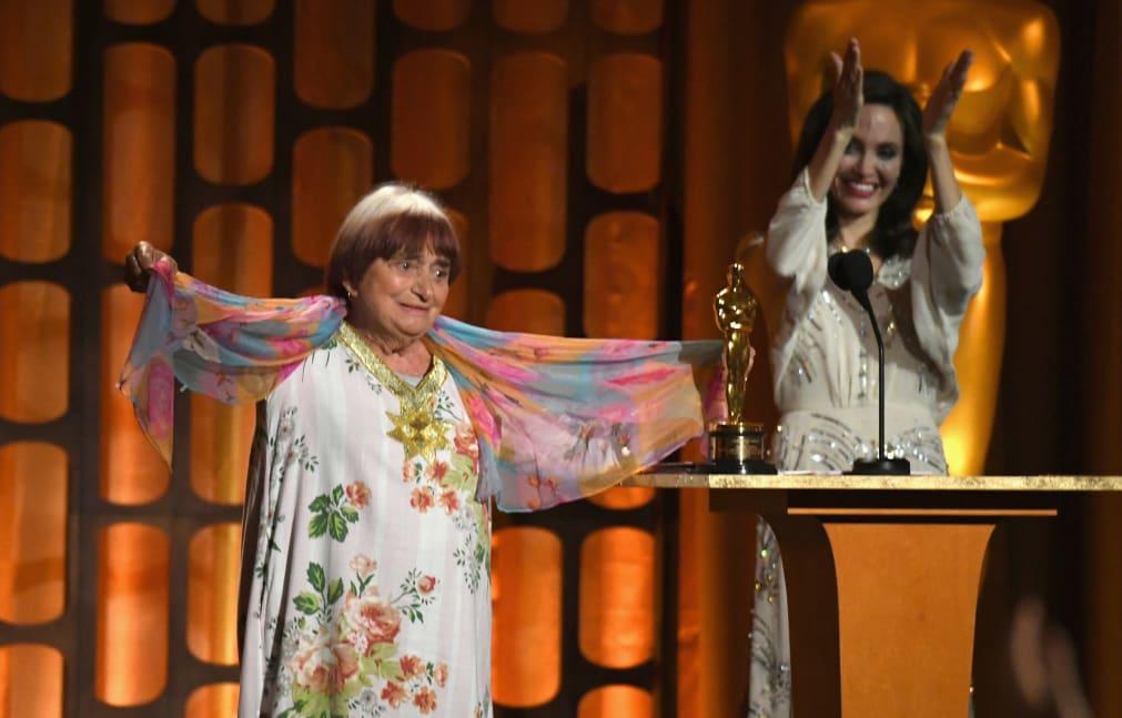 Agnes Varda was awarded an honorary Oscar in 2017.