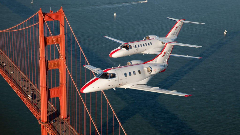 not just for high flyers private jets come within reach of business