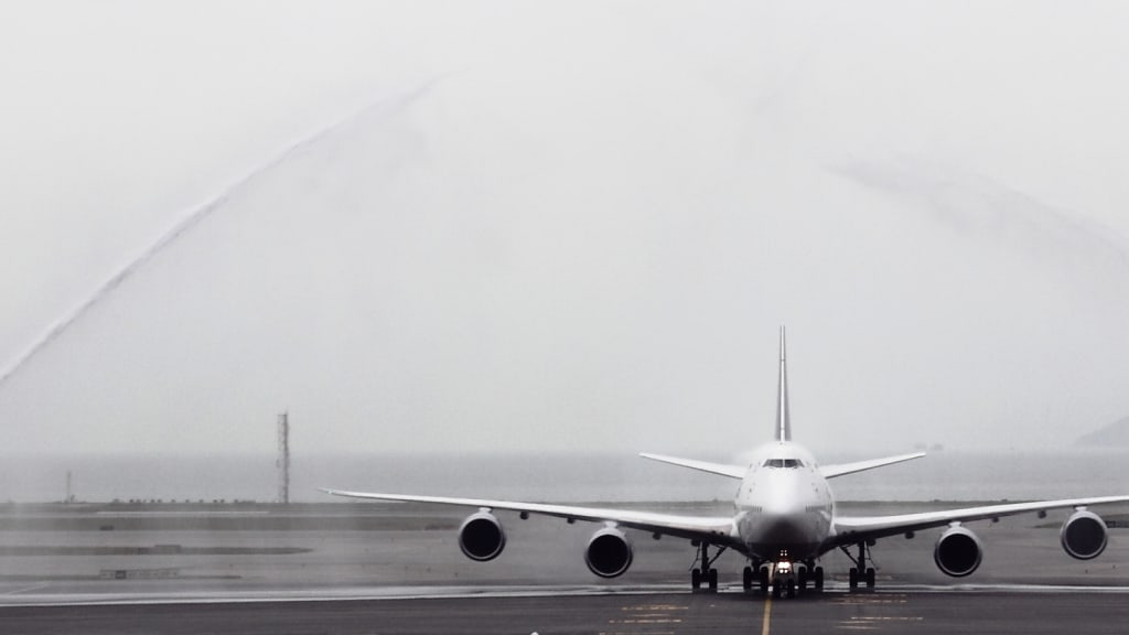 Lufthansa Gallery Water Cannon