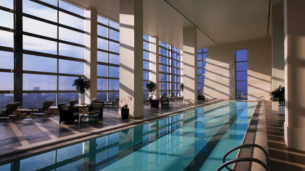 Hotel indoor pool  8 of the best indoor hotel pools around the world   CNN Travel