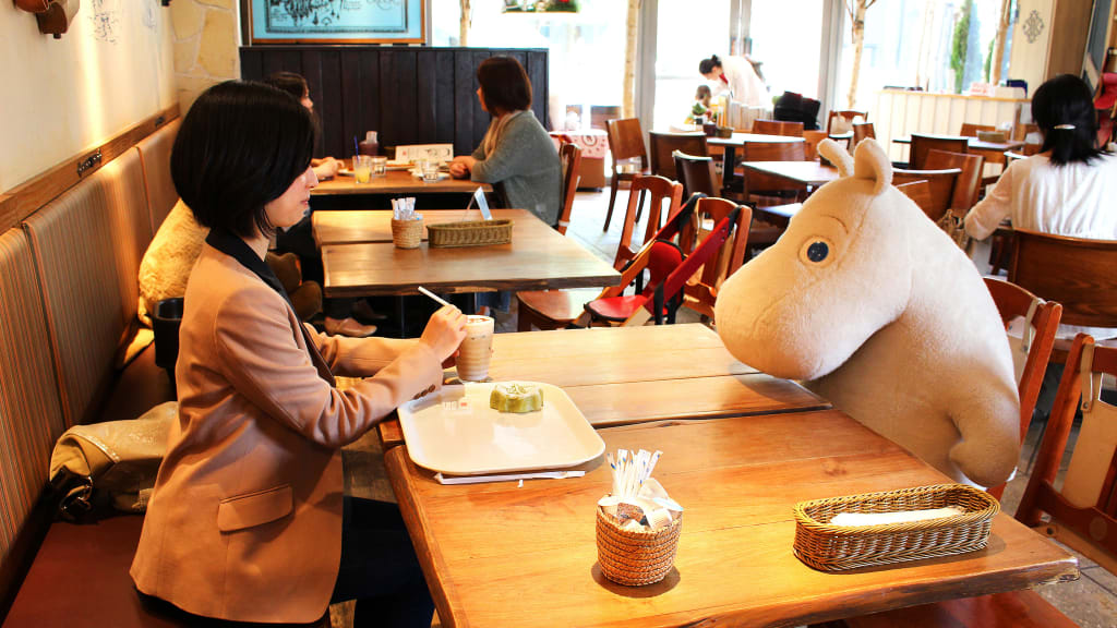 Image result for Moomin Bakery and Cafe