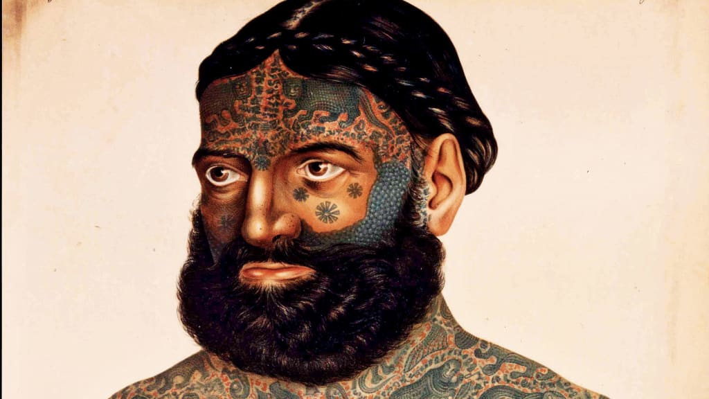 What We Can Learn From The Tattoos Of Our Ancestors Cnn Style