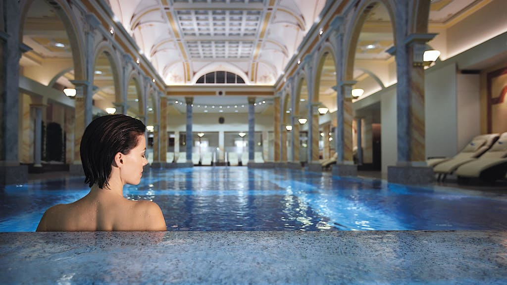Best hotel spas- Grand Resort Bad Ragaz