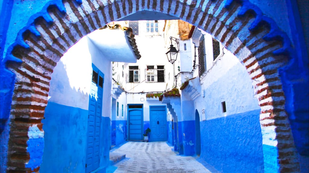 Inside Morocco S Legendary Blue City
