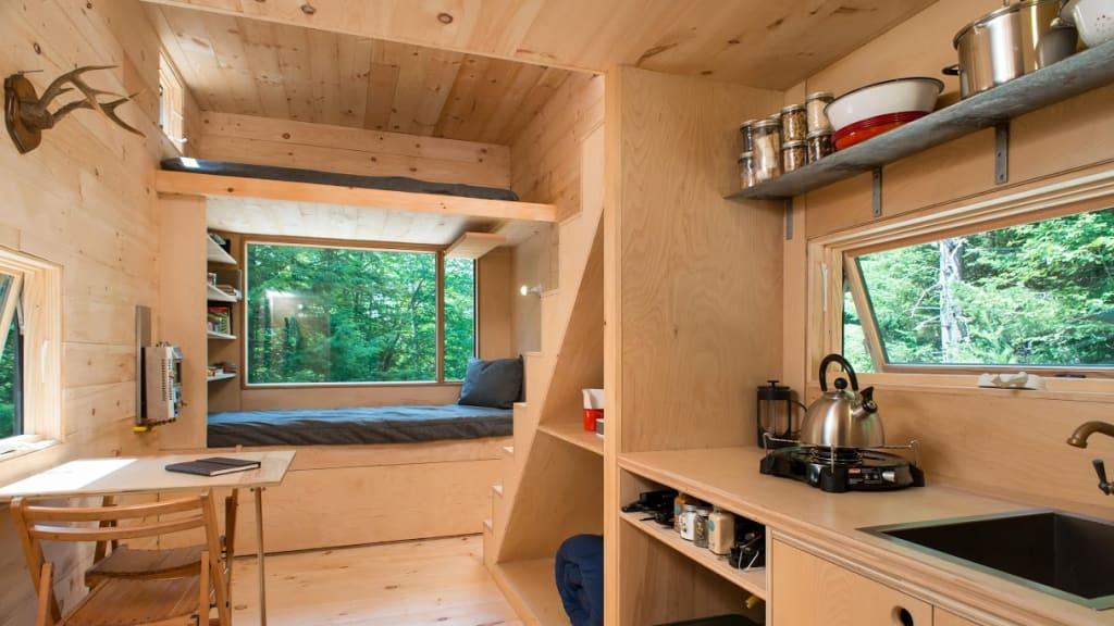 Getaway Tiny House Interior
