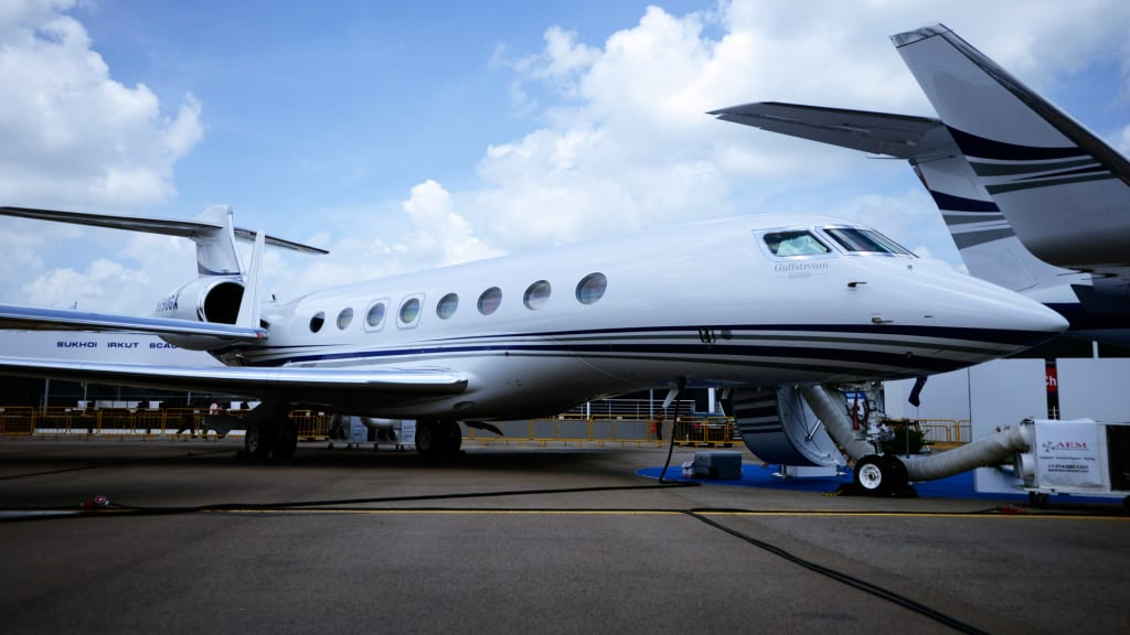 Private jet industry takes off in india cnn travel gulfstream g650 malvernweather Choice Image