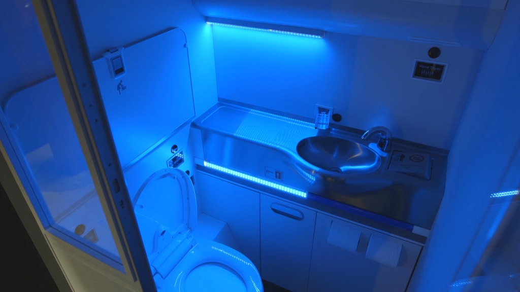Airplane toilets that clean themselves? It\'s happening | CNN Travel