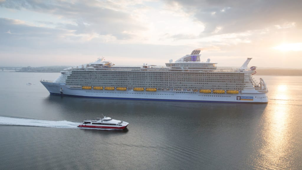 Harmony Of The Seas The Worlds Biggest Cruise Ship CNN Travel - Biggest cruise ships list