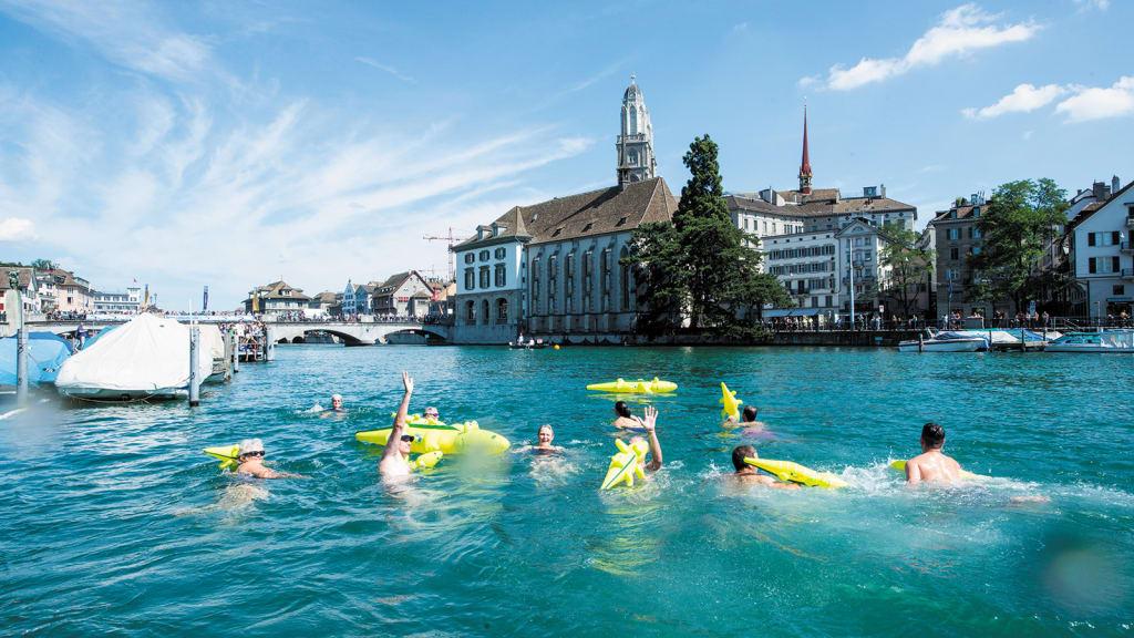 World\'s best swimming cities | CNN Travel
