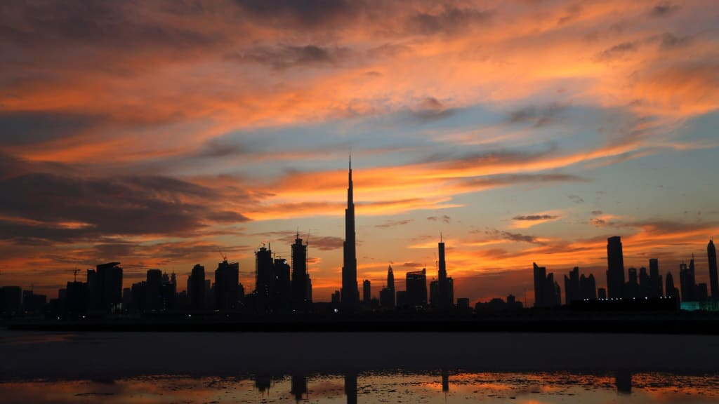 Thanks To The Addition Of The Burj Khalifa, Dubaiu0027s Skyline Is One Of The  Worldu0027s