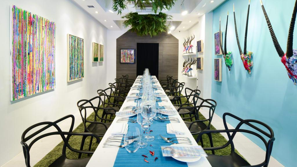 Galleristic Dining Popsy Room 1
