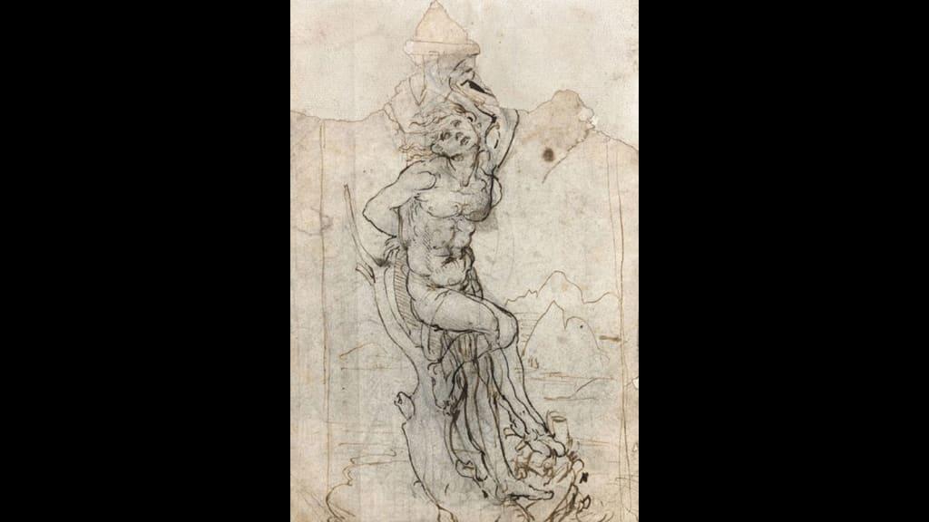 Perfect Da Vinci Found Drawing Front