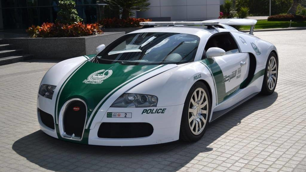 Dubai Police own world's fastest police car - CNN Style
