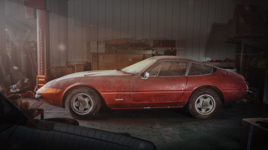 Rare Barn Find Ferrari Sells For 2M