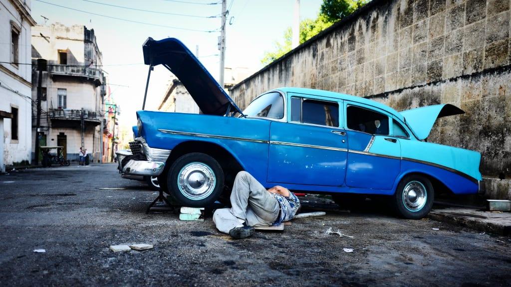 Cuba\'s classic American cars Style