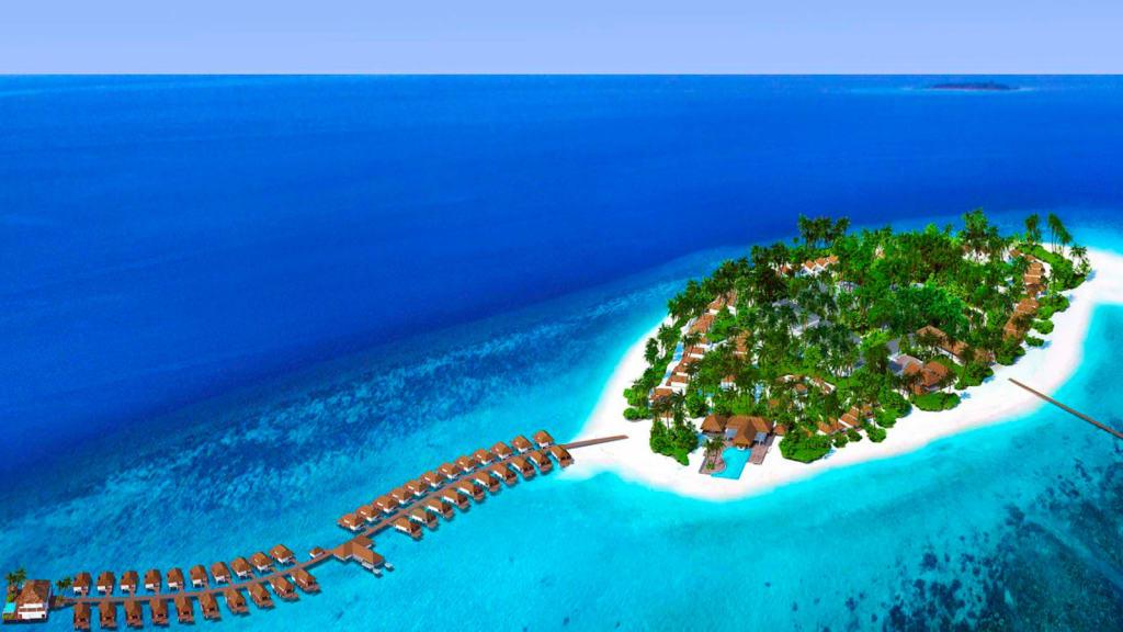 Best New Hotels 2018 Baglioni Resort Maldives Aerial