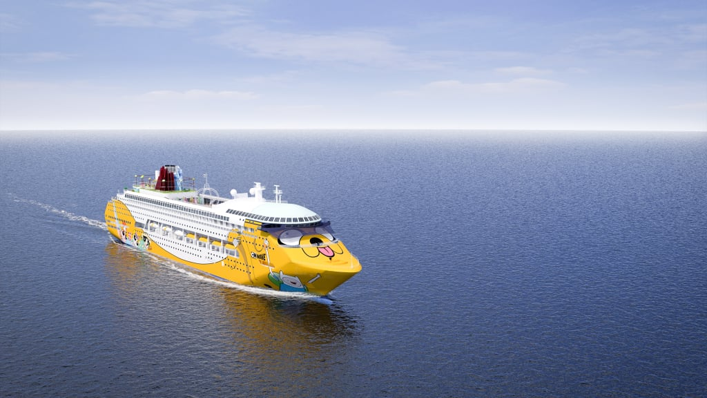 Cartoon Network Reveals Colorful New Cruise Ship CNN Travel - Cruise ship trouble