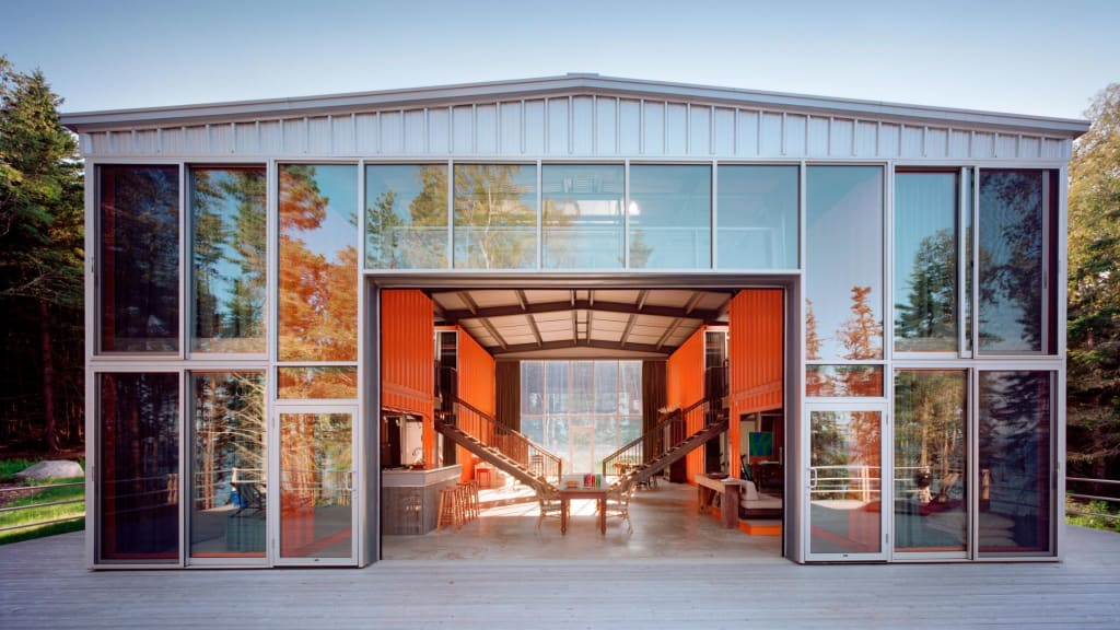 Kalkin_12Con_2004A76.3. Stunning Revival Of The Humble Shipping Container.  Share
