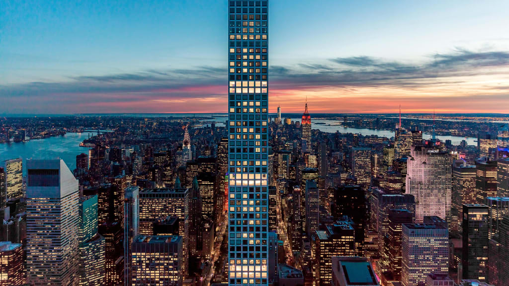 The slender skyscrapers changing new yorks skyline cnn style super slender skycraper ny voltagebd Gallery
