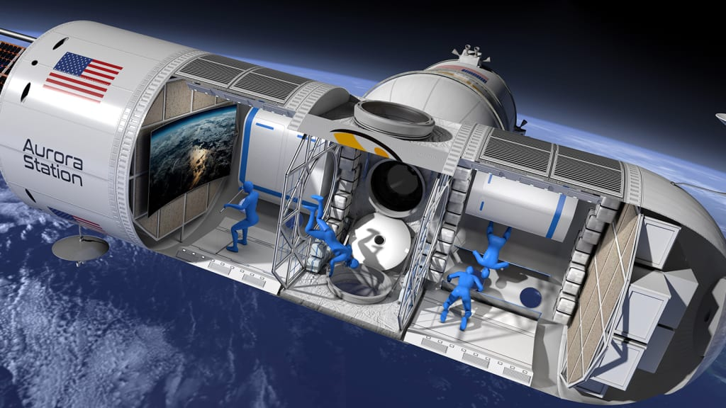 Image result for ORION SPAN TO LAUNCH FIRST SPACE HOTEL IN 2021