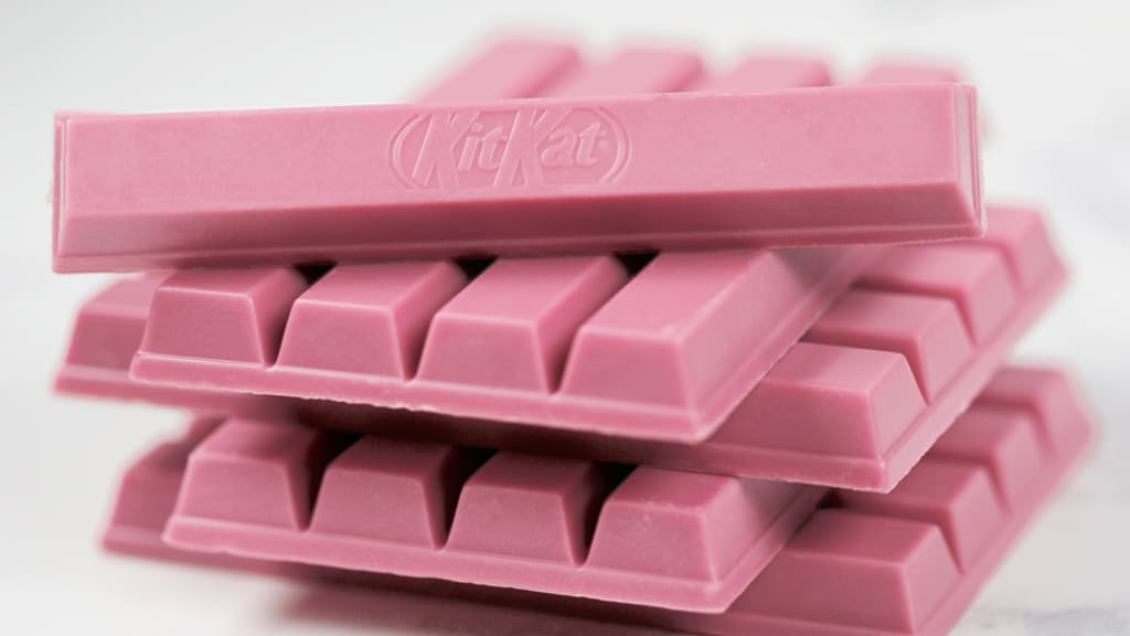 Image result for pink kit kat