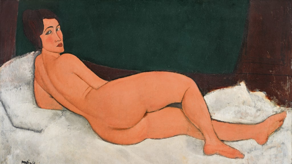 Image result for Modigliani nude