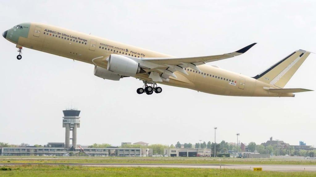 Αποτέλεσμα εικόνας για World's longest nonstop flight from Singapore to New York to be launched