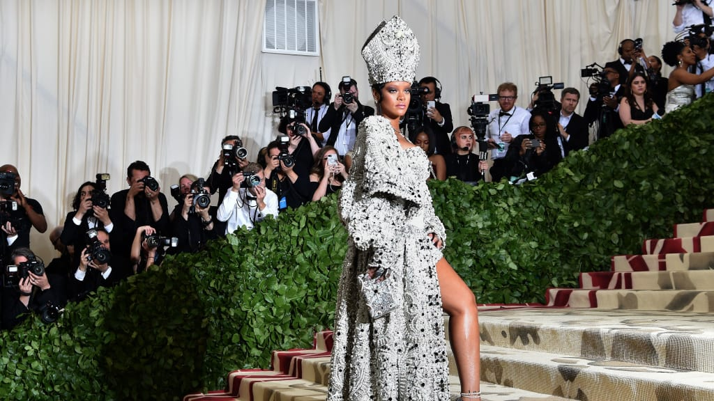 Image result for images of met gala 2018