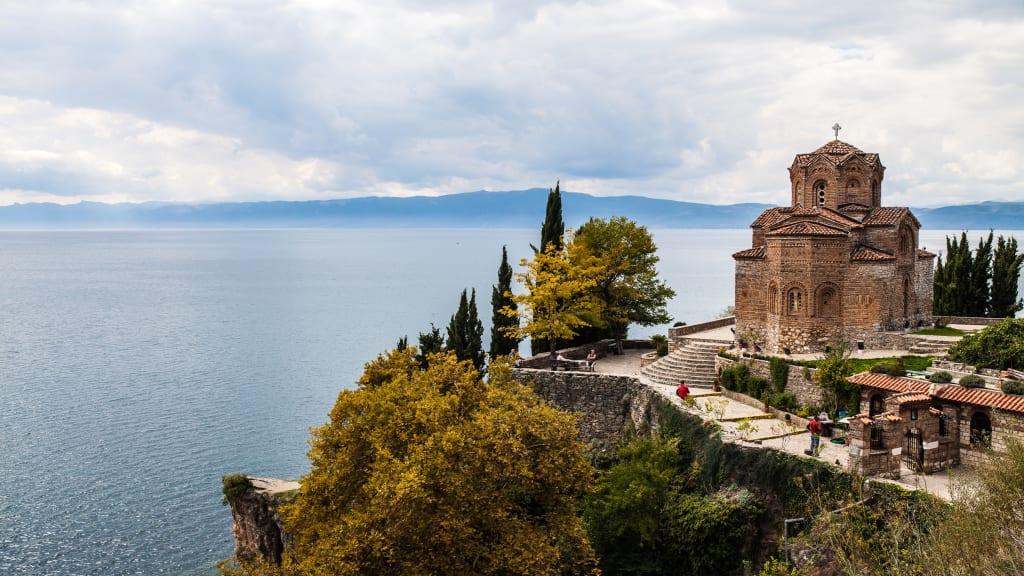 The Church Of St John At Kaneo In Ohrid Macedonia