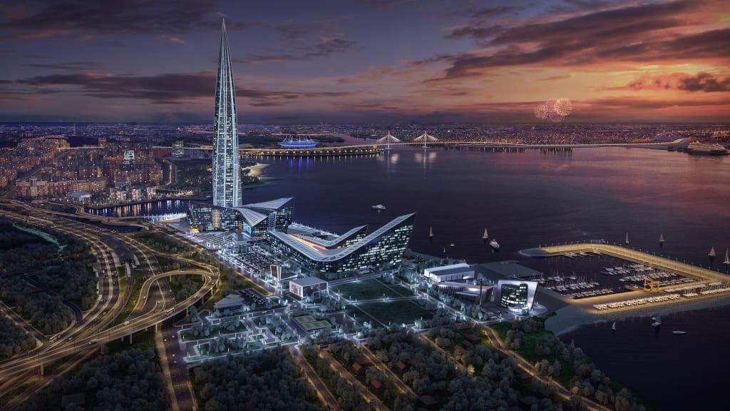 Tòa nhà chọc trời cao nhất châu Âu sắp hoàn thành