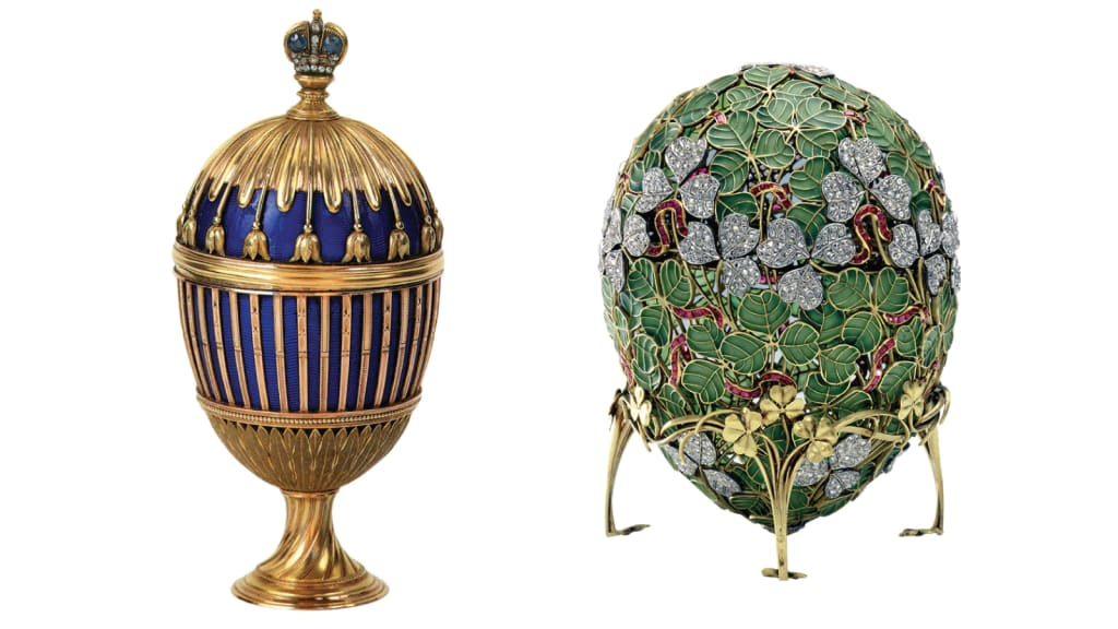 Faberge The Story Behind The Worlds Most Luxurious Eggs Cnn Style