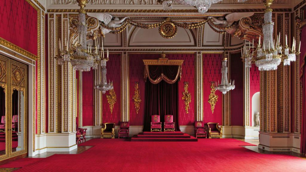 Throne Room, Buckingham Palace, By Ashley Hicks