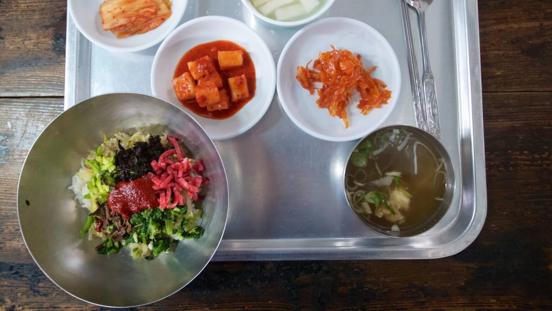 eat korea best food Jinju Bibimbap