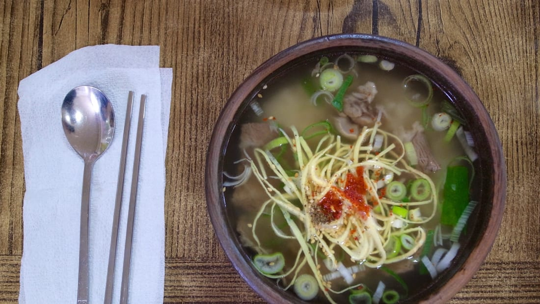 eat korea best food gomtang