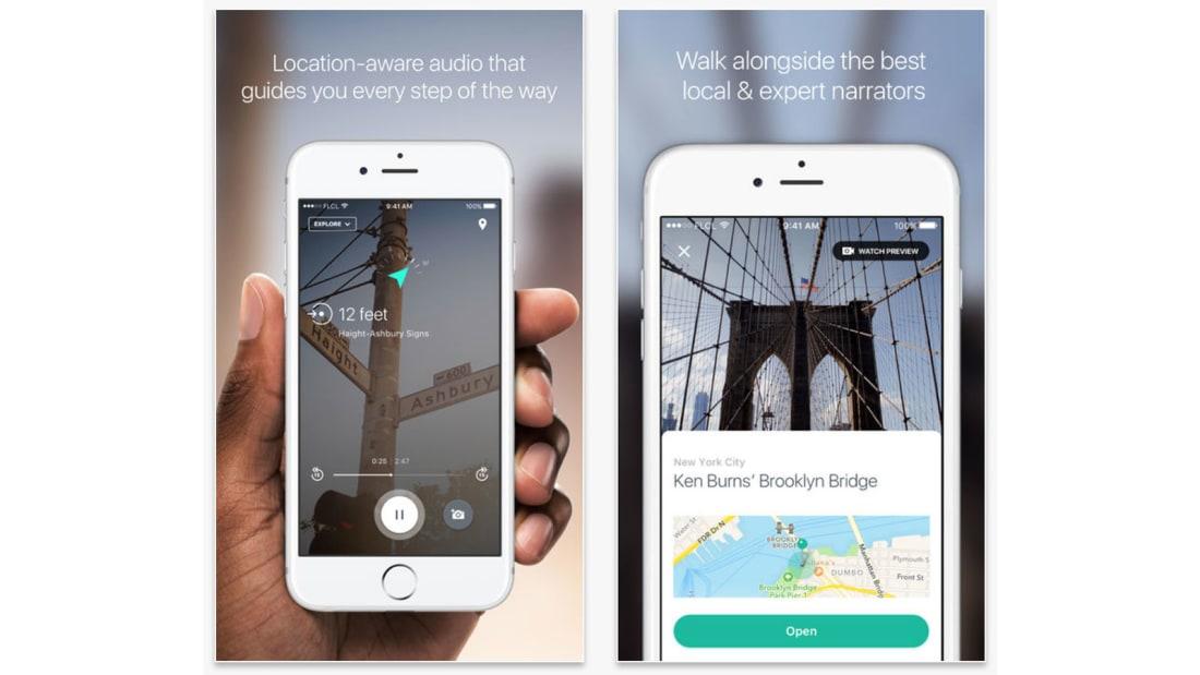 Best travel apps Detour