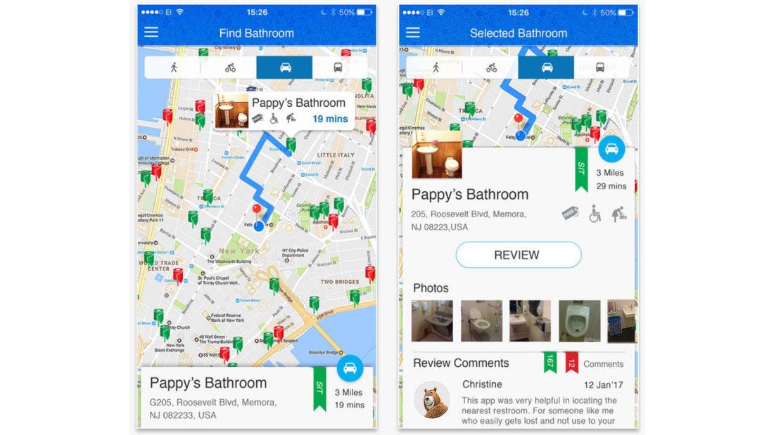 Best travel apps SitorSquat