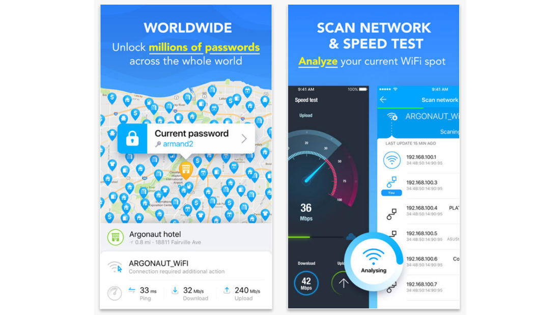 Best travel apps WiFi Map