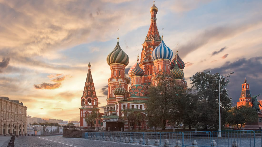 03 moscow attractions - St Basil's Cathedral
