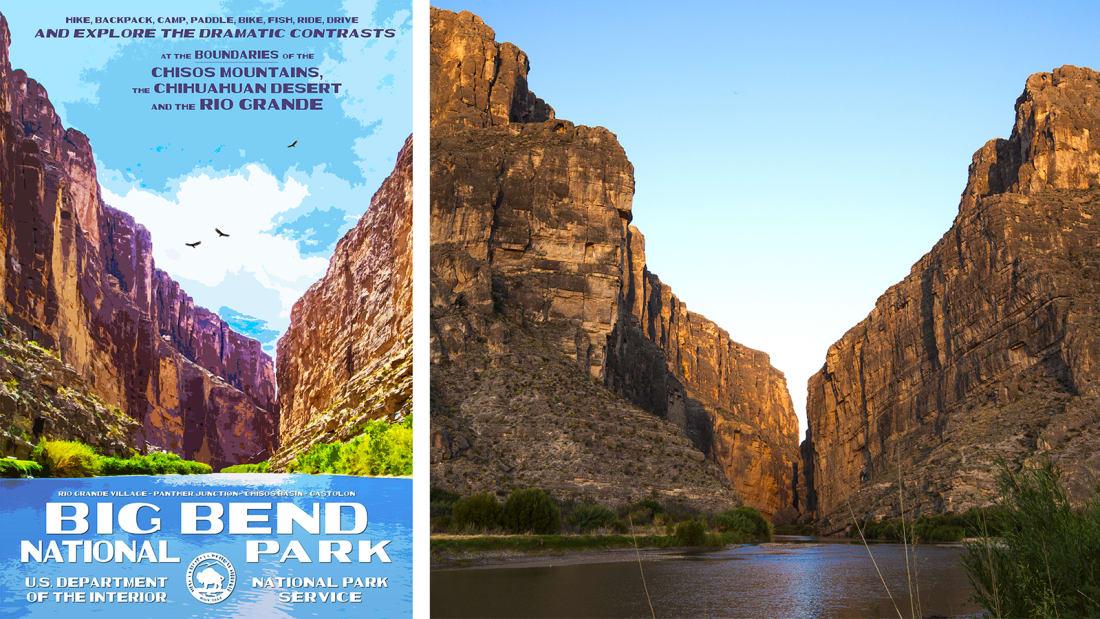 08 national park service posters - Big Bend