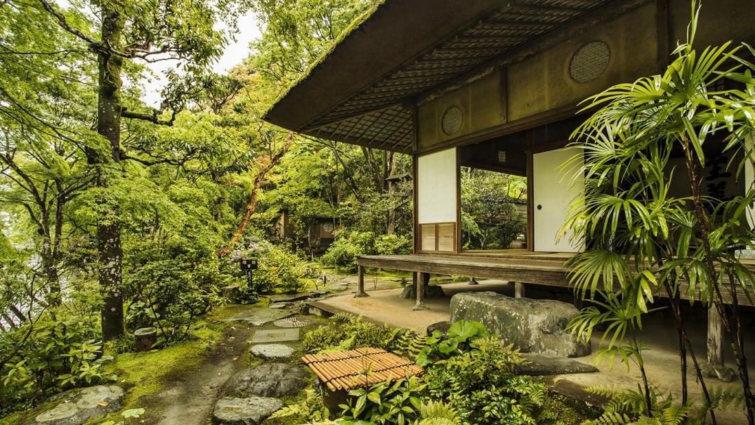 Ozu Castle Town Garyu Sanso_ Garyu-in & Roji (Tea Garden)