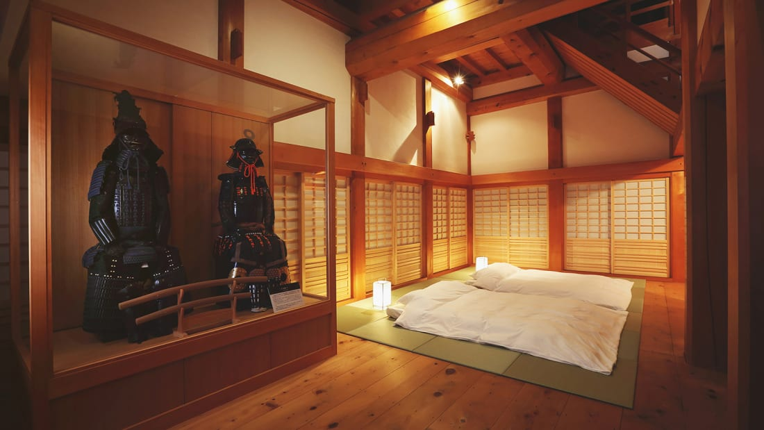 Ozu Castle Town Castle BedRoom1