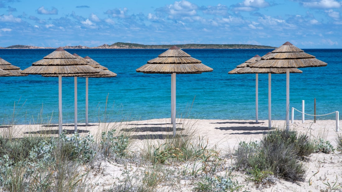 It has been illegal to remove sand from Sardinia's beaches since 2017.