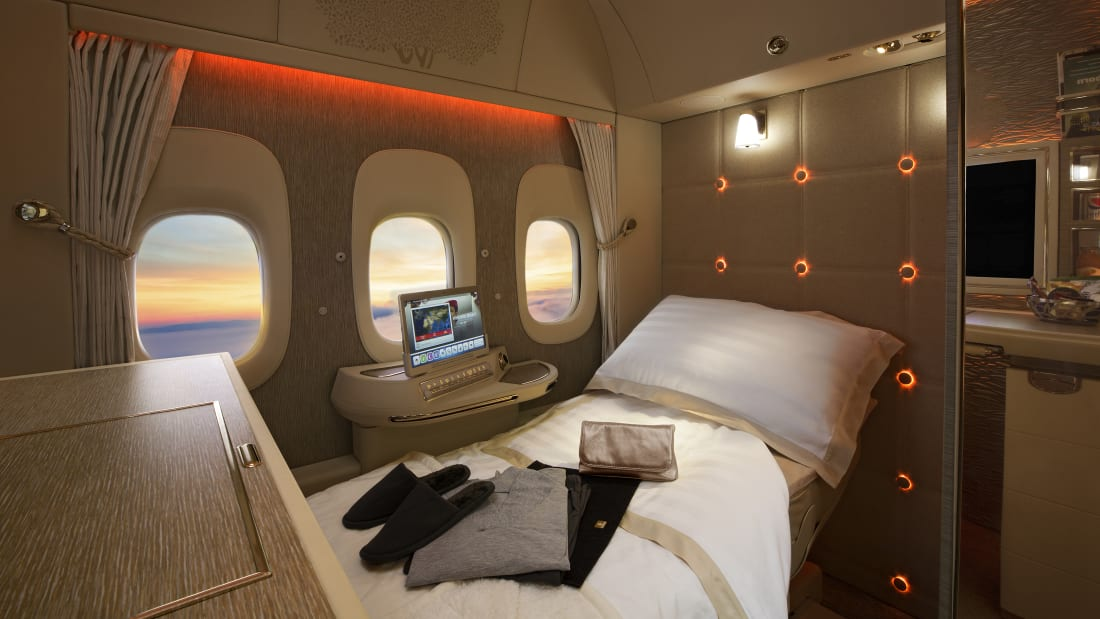 Emirates' 777-300ER suites