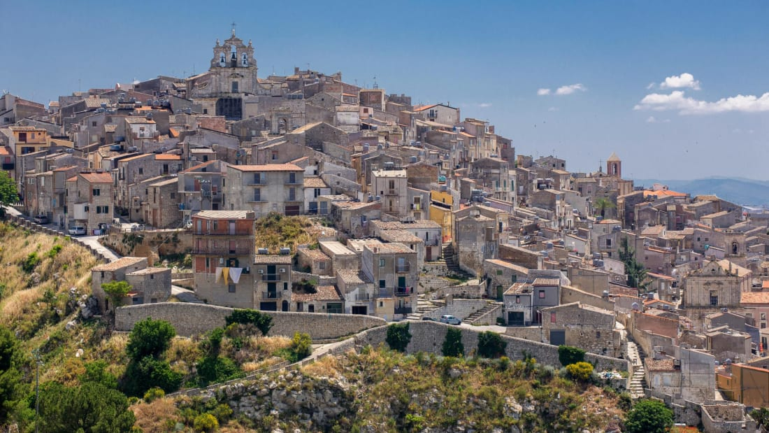 Mussomeli is one of Sicily's most popular towns for €1 homes.