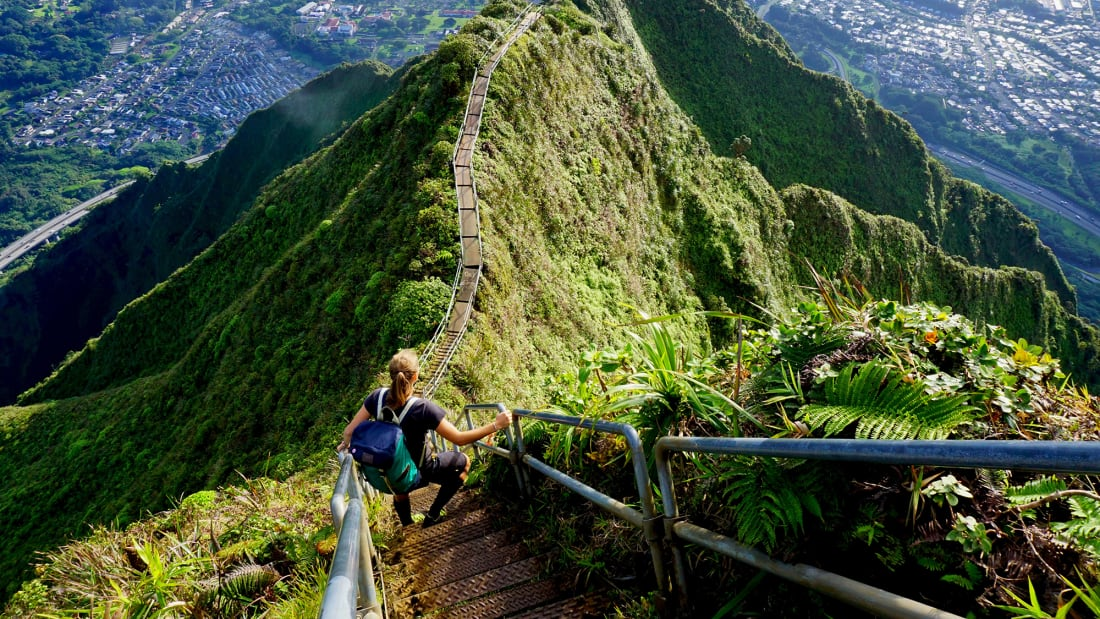 haiku stairs hawaii trnd