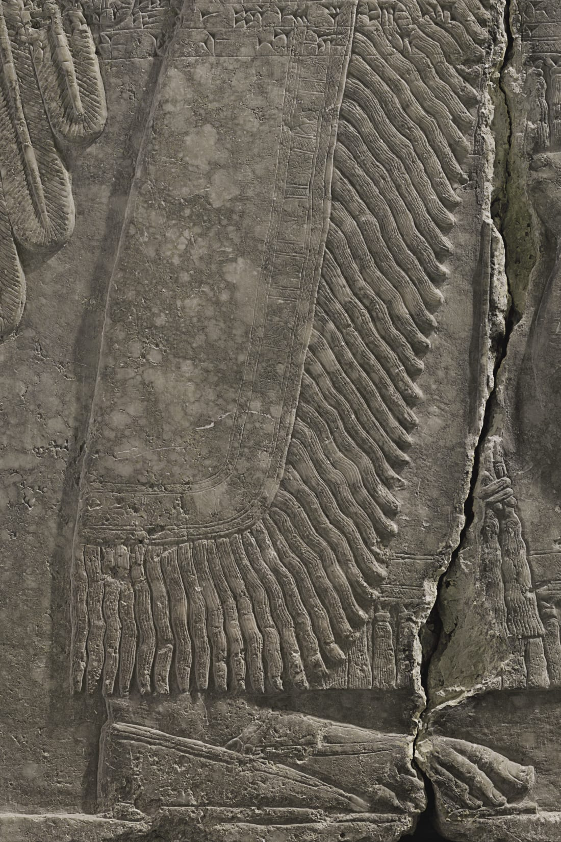 Assyrian relief panel_2