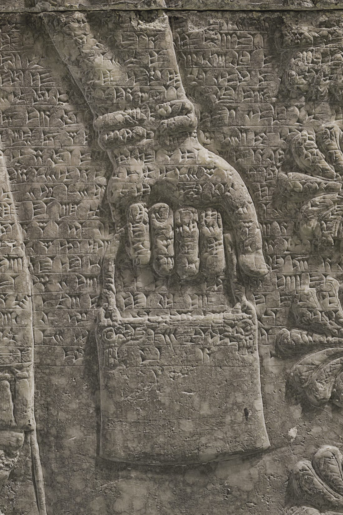Assyrian relief panel_6